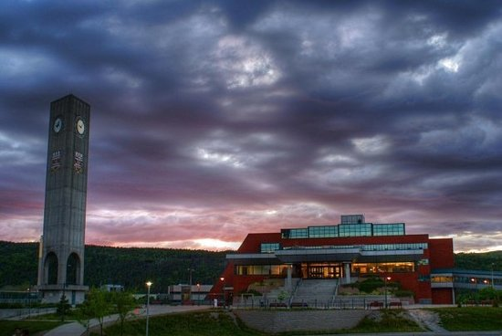 St. Johns, Canada: Memorial University campus