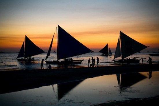 Μπορακάι, Φιλιππίνες: Paraws - - Boracay, Philippines