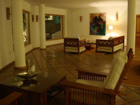 Hotel El Tio Kiko: the lounge area