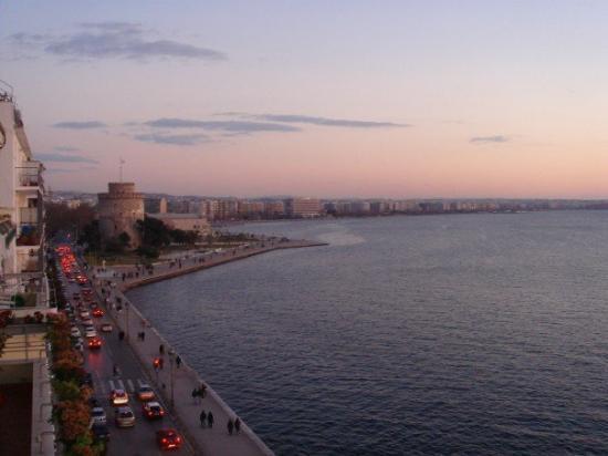 White Tower of Thessaloniki: Thessaloniki sunset