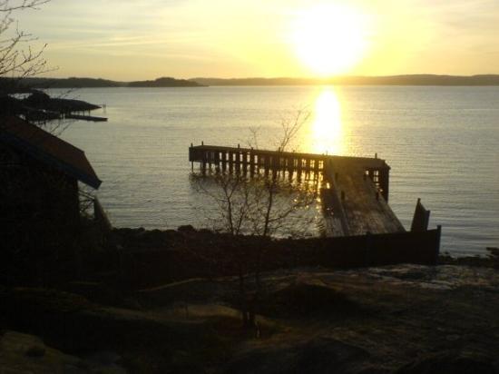 สเตนังซุนด์, สวีเดน: Pretty sunset over the beach