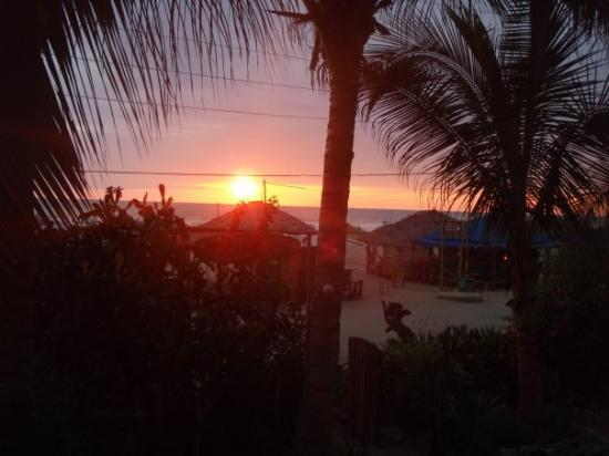 Canoa, Ecuador: View from my Balcony