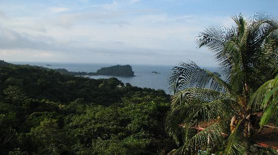 Villa Manuel Antonio: view from balcony