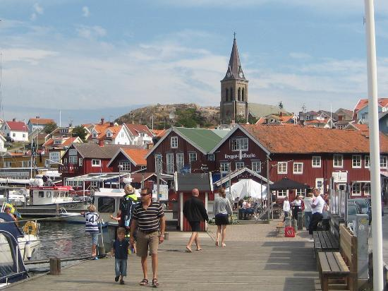 Strömstad, Sverige: Fjällbacka, Near Stømstad Camila Läckberg