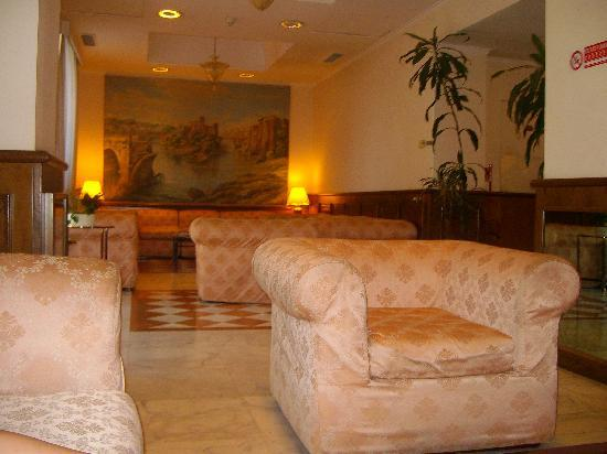 Hotel Traiano: Hall