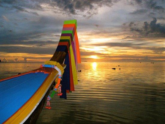 Ko Libong, Thailand: Beautiful sunsets