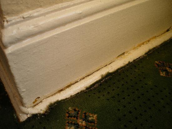 Kantara Guest House: Shabby carpet...