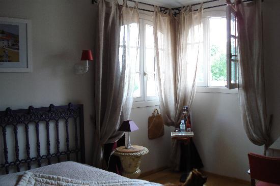Domaine de Larchey : la chambre basque