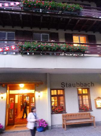 Hotel Staubbach: Best exterior of any hotel in Lauterbrunnen