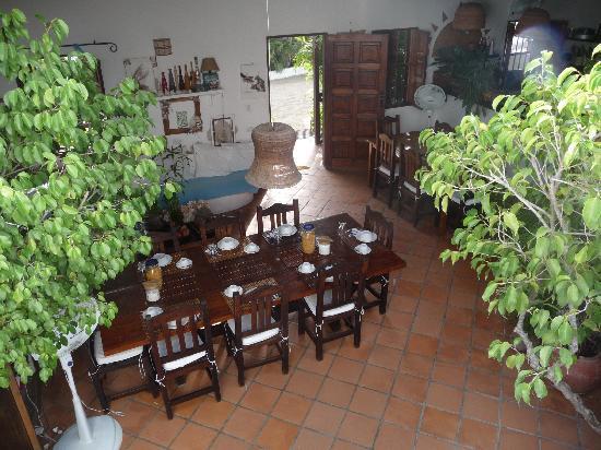 Posada Movida: la sala da pranzo