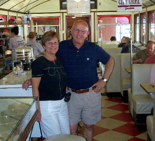 Wellsboro Diner: Inside the diner...that's us!