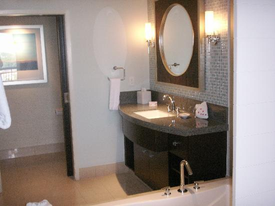 Bay Lake Tower at Disney's Contemporary Resort: Master Bath Area