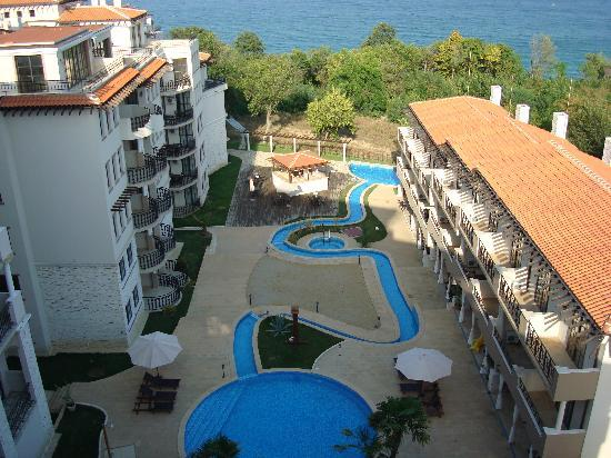 The Cliff Beach & Spa Resort: The view from our balcony