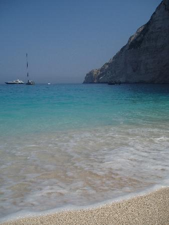 Alykanas, Grækenland: The view from Shipwreck Beach