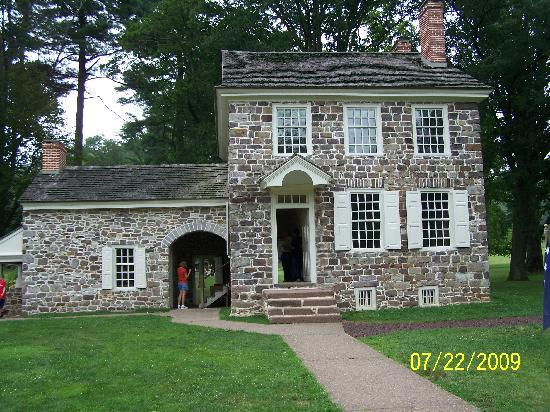 Valley Forge National Historical Park: building