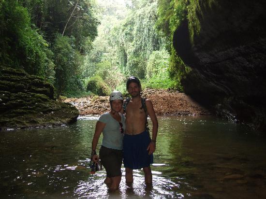 Batey Zipline Adventure: Fernando and I
