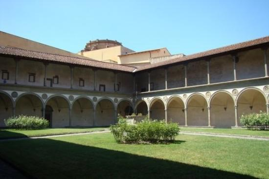 Hotel Santa Croce: Covent of Santa Croce