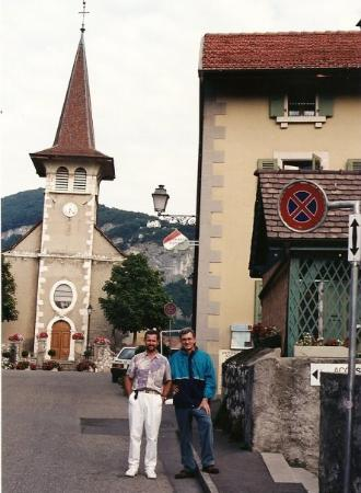 Normand Toupin et Jean-Guy Rens, Veyrier, Suisse