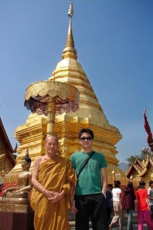 Climbing . . . and climbing up to Doi Suthep temple - Foto ...