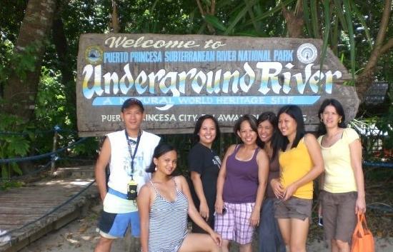 เปอร์โตพรินเซสา, ฟิลิปปินส์: 08.06.2009 LOVE IT!
