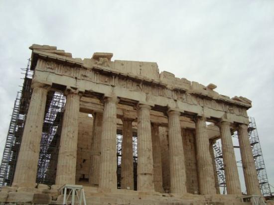 Food Near Parthenon Greece