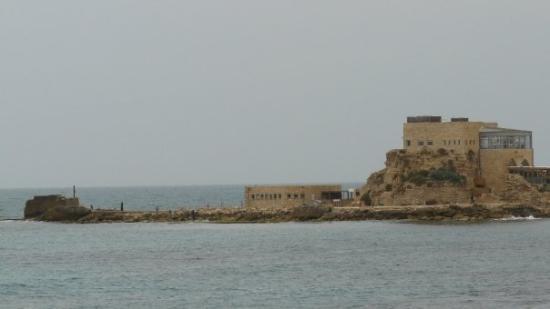 Caesarea.  In 22 BCE King Herod began construction of a deep sea harbor and built storerooms, ma