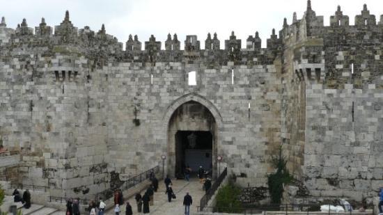Damascus Gate Old City Wall Picture Of Jerusalem Jerusalem District Tripadvisor