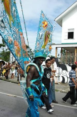 San Fernando, île de la Trinité : Port of Spain, Trinidad and Tobago, Caribbean