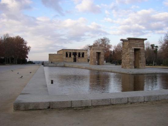 templo de debod madrid tempio de debod plaza de espaa