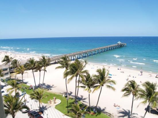 Deerfield Beach, Flórida: Pier