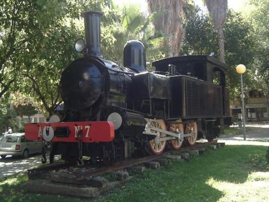 กันดีอา, สเปน: Gandía (Locomotora a Vapor)