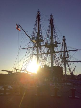 USS Constitution Museum: USS constitution - the first warship of United State of America!