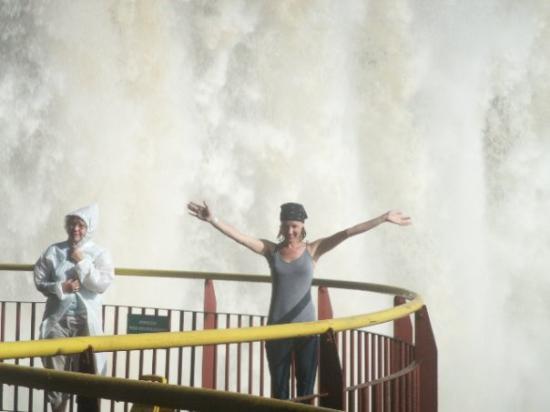 Puerto Iguazu, Argentina: Who needs a rain coat?