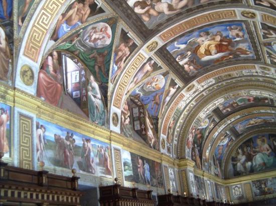 San Lorenzo de El Escorial, Spain: El Escorial (Monasterio de San Lorenzo - Biblioteca 1)