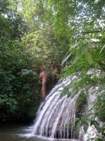 Bonito, MS: The jump waterfall.