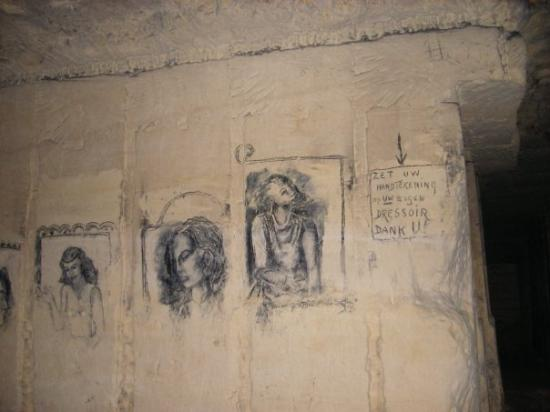 Maastricht, The Netherlands: More cave paintings