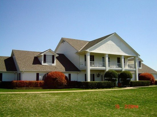 South fork ranch picture of southfork ranch parker for Southfork ranch house plans