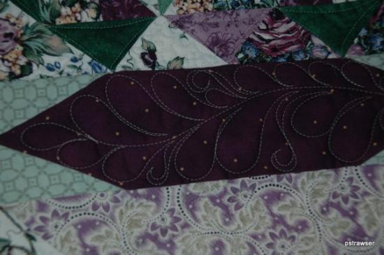 เอลกินส์, เวสต์เวอร์จิเนีย: One of Sis's quilts