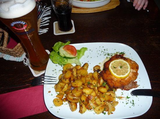 Zum Burgkeller: Schnitzel