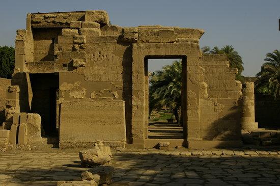 Temple of Montu: Main temple entrance