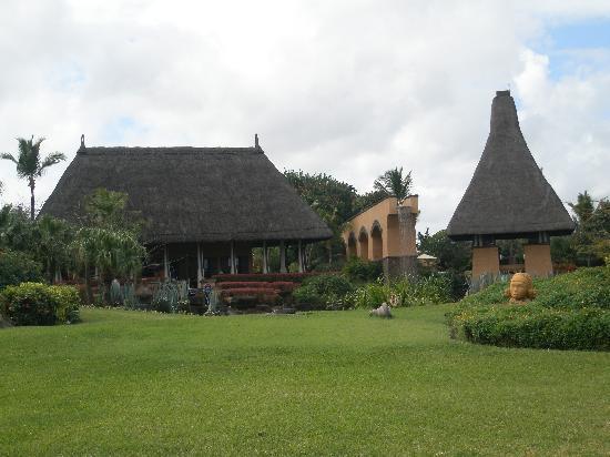 The Oberoi, Mauritius: Reception and greeting pavillion