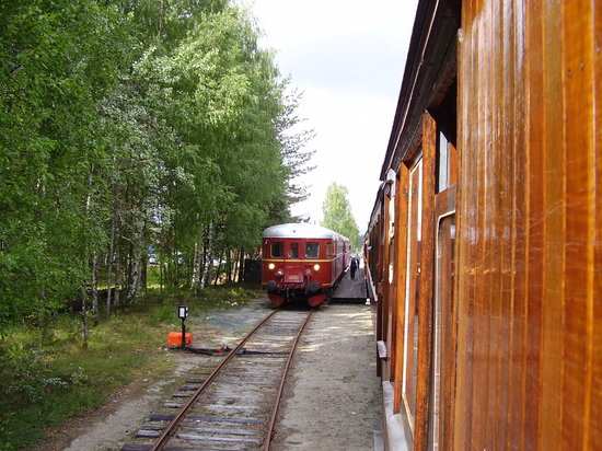 Kroederbanen Historic Steam Engine Railway