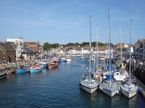Уэймут, UK: Weymouth Harbour, Dorset