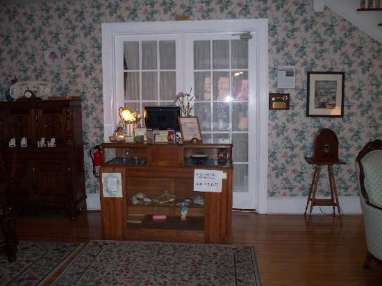 "Atlantic House Bed and Breakfast: The ""Front Desk"""