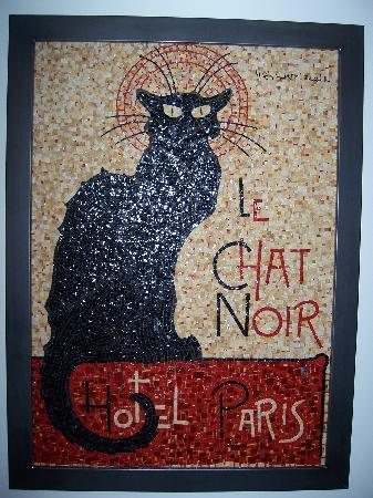 Hotel le Chat Noir: best hotel in paris