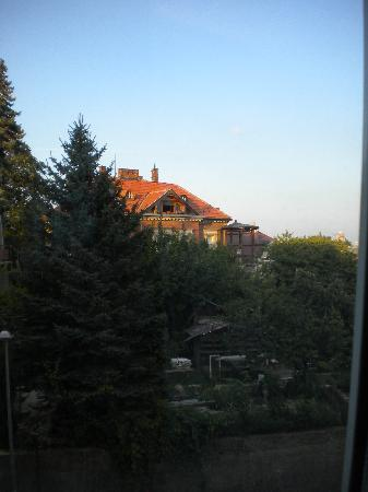 Mamaison Residence Sulekova Bratislava: view from our studio window