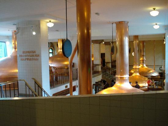 Heineken Experience: Brewing Room