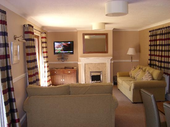 Holsworthy, UK: Puffin lodge large lounge