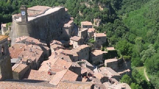 Hotel della Fortezza: la vista dalla stanza
