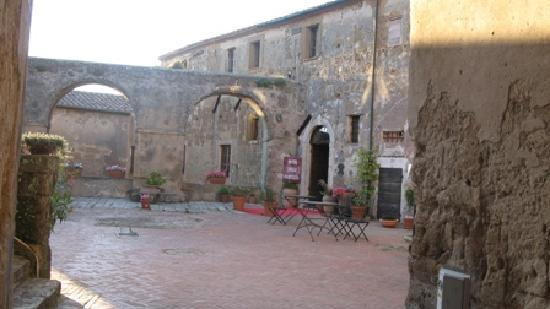 Hotel della Fortezza: l'entrata del hotel